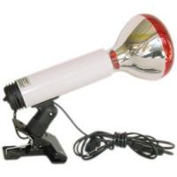 Lampe à pince Verre et Quartz + ampoule 100W