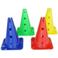 Cones perforés hauteur 38 cm (lot de 6)
