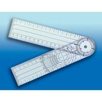 Goniomètre plastique 3 lectures